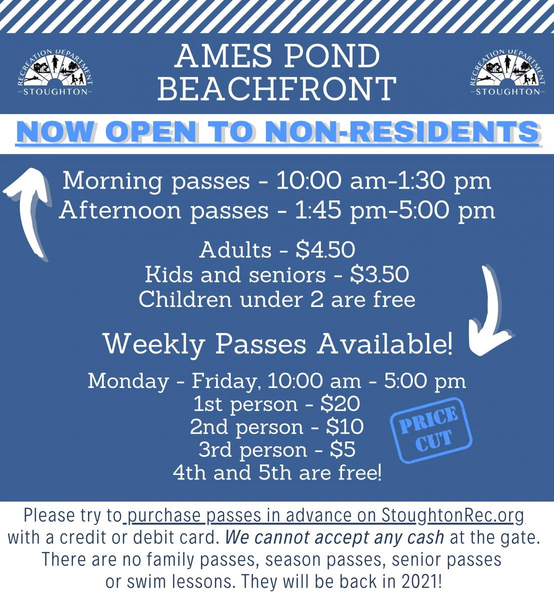 Ames Pond Prices 2020