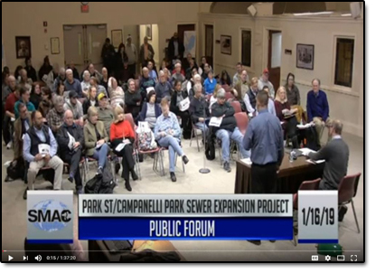 Park Street Sewer Expansion Project Public Meeting 01/16/19 (Video on Demand)