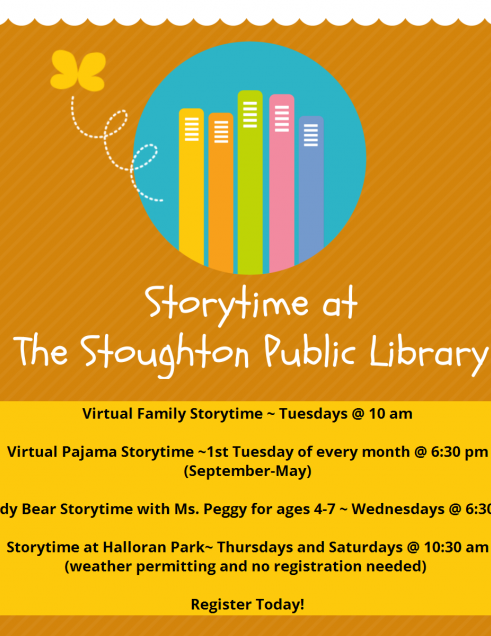 Fall Storytime Schedule