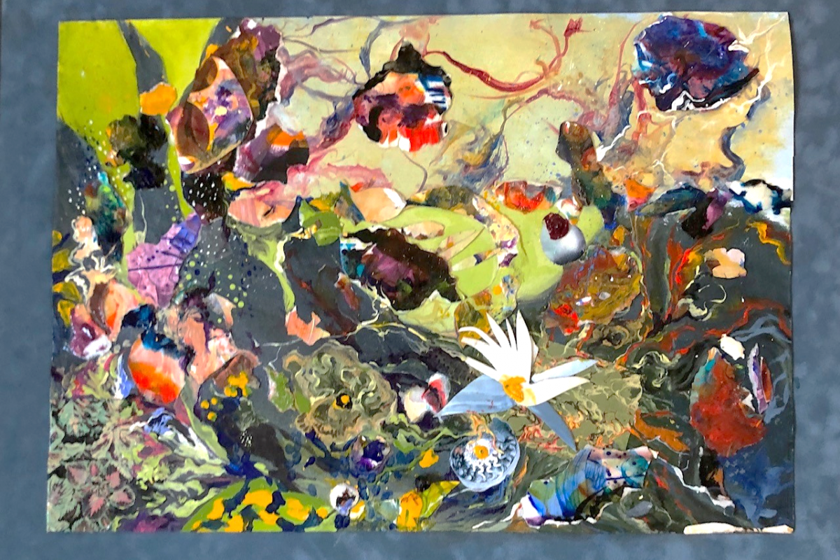 Collage of the sea NW