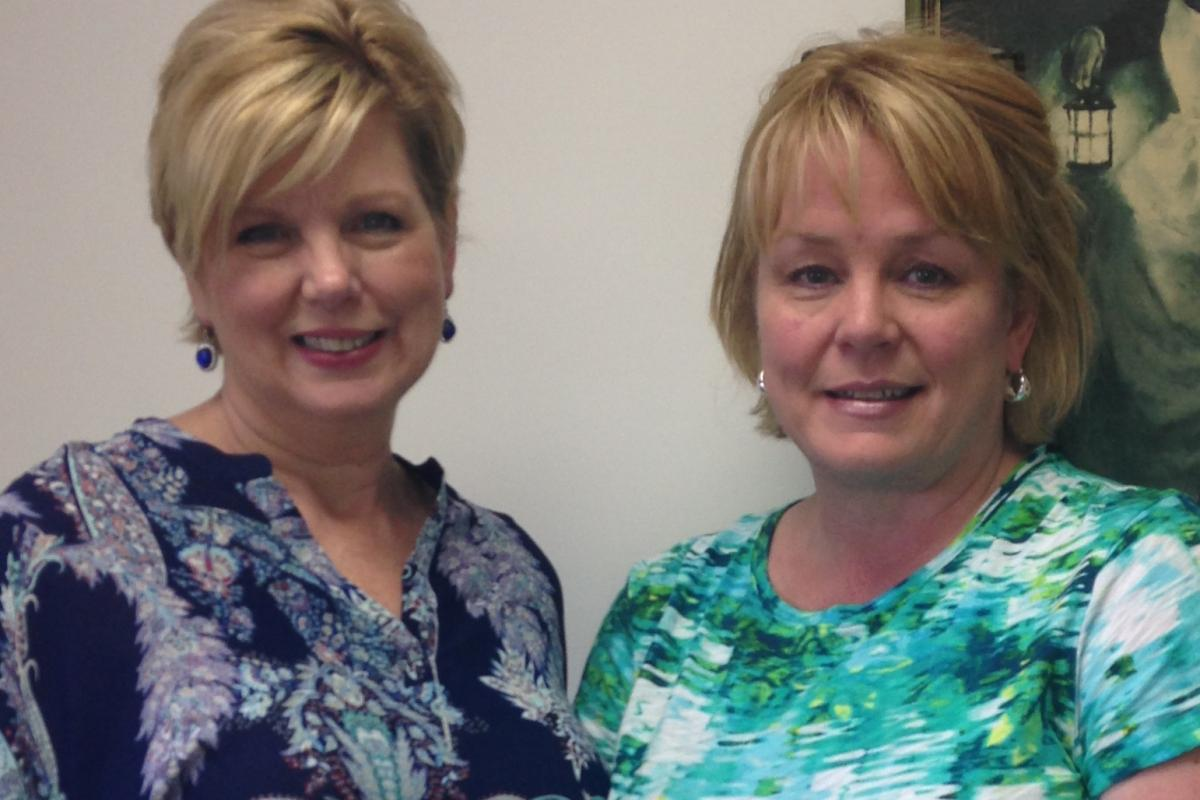 Janiece Bruce, Administrator/Director & Janet Crimmins, Quality Improvement RN/ Administrative Assistant